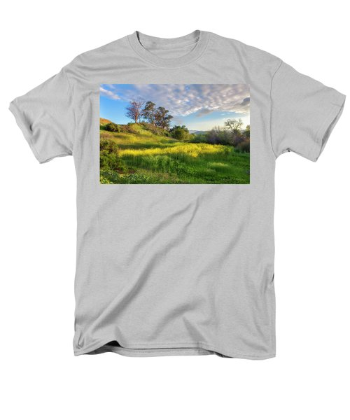 Men's T-Shirt  (Regular Fit) featuring the photograph Eagle Grove At Lake Casitas In Ventura County, California by John A Rodriguez