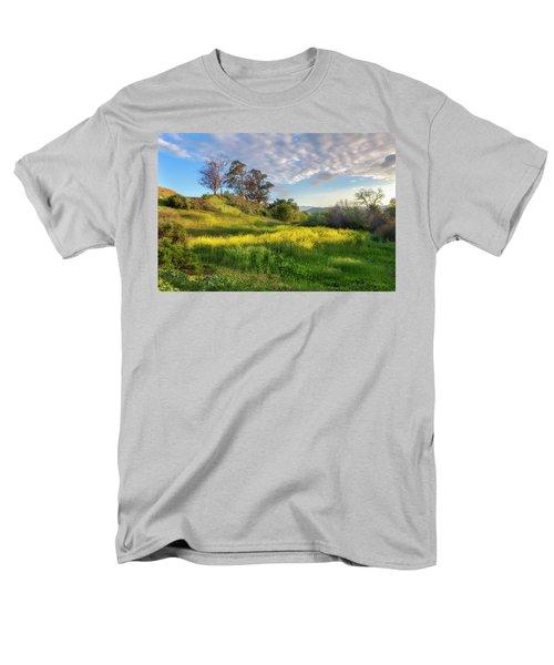 Eagle Grove At Lake Casitas In Ventura County, California Men's T-Shirt  (Regular Fit) by John A Rodriguez