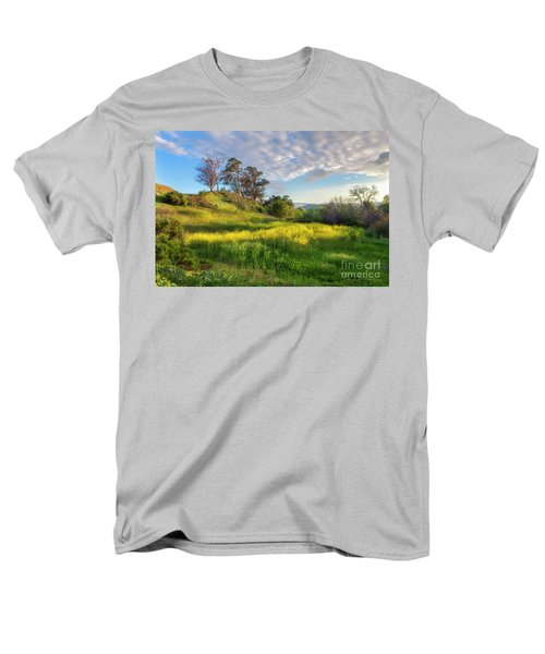 Eagle Grove At Lake Casitas In Ventura County, California Men's T-Shirt  (Regular Fit)