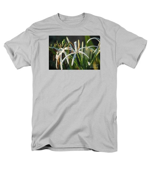 Early Morning Lily Men's T-Shirt  (Regular Fit) by LeeAnn Kendall