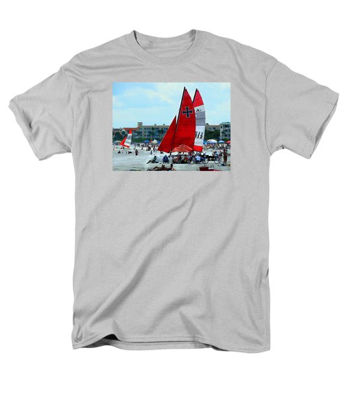 Men's T-Shirt  (Regular Fit) featuring the photograph East Beach by Laura Ragland