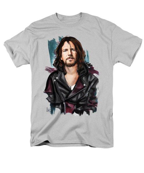 Eddie Vedder Men's T-Shirt  (Regular Fit) by Melanie D