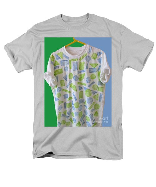 Men's T-Shirt  (Regular Fit) featuring the painting Emblematic Sierra Leone Tee Shirt by Mudiama Kammoh