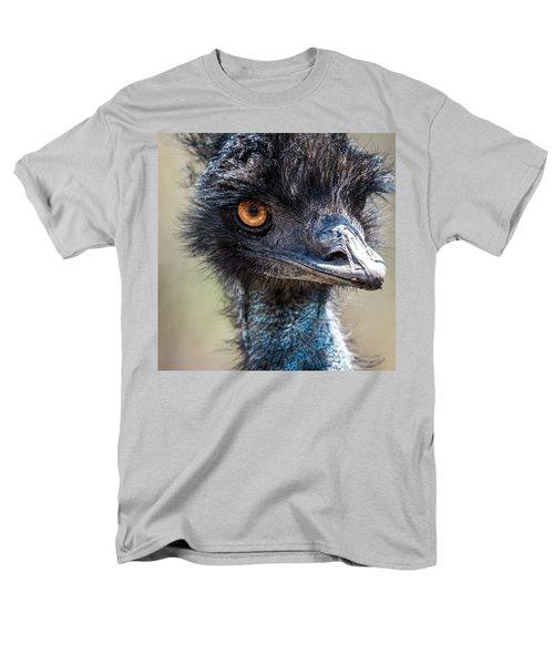 Emu Eyes Men's T-Shirt  (Regular Fit) by Paul Freidlund