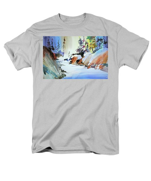 Enchanted Wilderness Men's T-Shirt  (Regular Fit) by P Anthony Visco