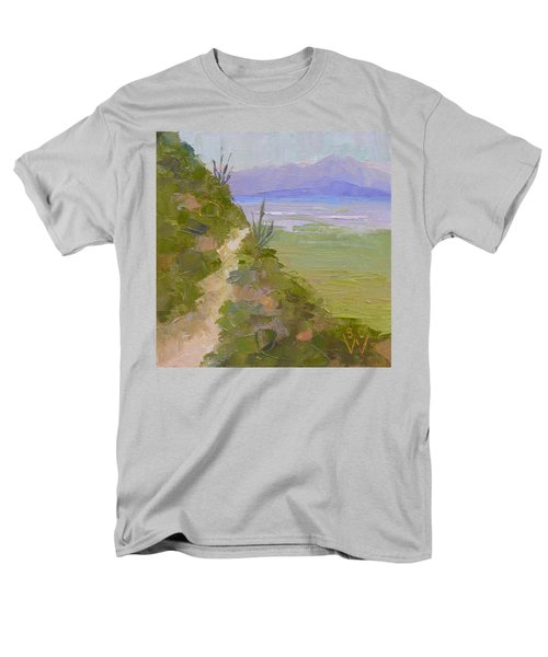 End Of Day At Gates Pass Men's T-Shirt  (Regular Fit) by Susan Woodward