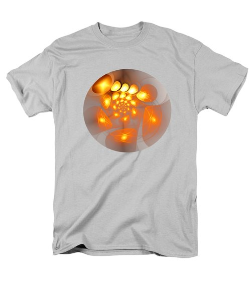 Men's T-Shirt  (Regular Fit) featuring the digital art Energy Source by Anastasiya Malakhova