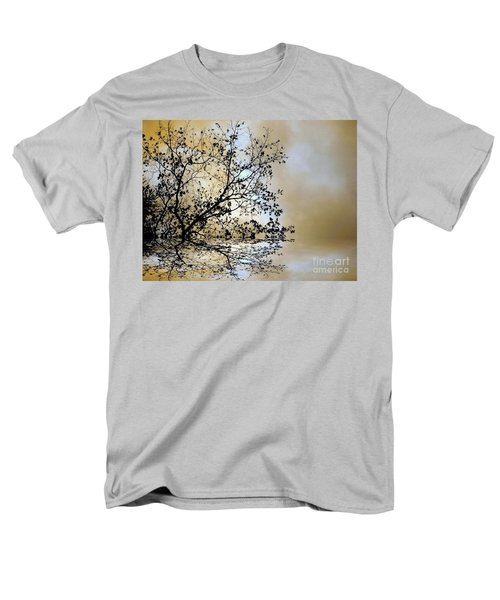 Men's T-Shirt  (Regular Fit) featuring the photograph Entangled by Elfriede Fulda