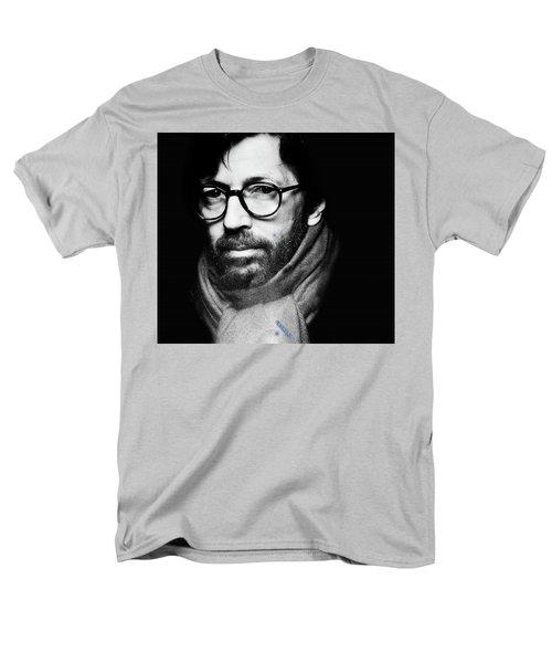 Eric Clapton Men's T-Shirt  (Regular Fit) by Allen Beilschmidt