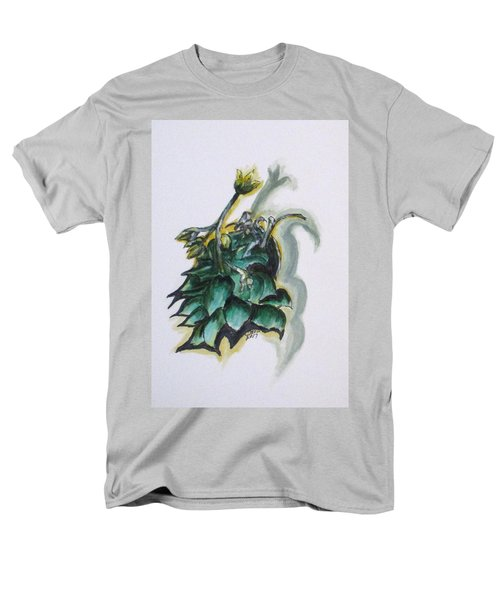 Erika's Spring Plant Men's T-Shirt  (Regular Fit) by Clyde J Kell