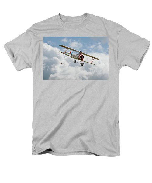 Men's T-Shirt  (Regular Fit) featuring the photograph Escadrille Lafayette - Hunters by Pat Speirs