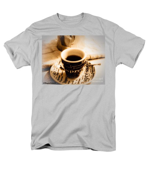 Espresso Anyone Men's T-Shirt  (Regular Fit) by MaryLee Parker