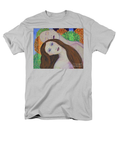 Men's T-Shirt  (Regular Fit) featuring the painting Eve Emerges by Kim Nelson