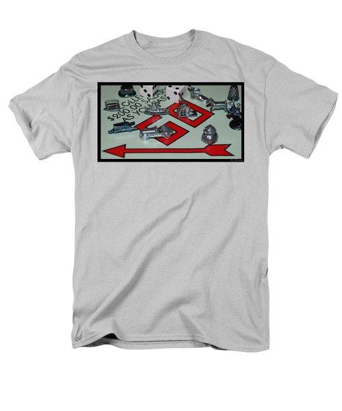 Everyone Pass Go Men's T-Shirt  (Regular Fit) by Rob Hans