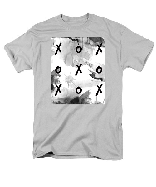 Men's T-Shirt  (Regular Fit) featuring the painting Exes And Ohs by D Renee Wilson