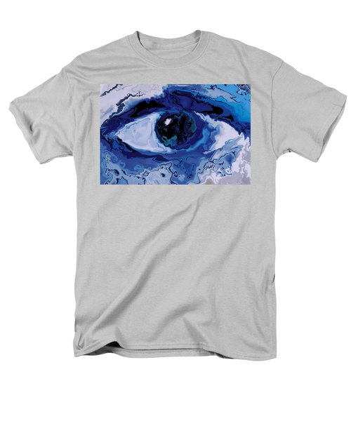 Men's T-Shirt  (Regular Fit) featuring the digital art Eye by Rabi Khan