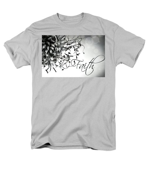 Faith Men's T-Shirt  (Regular Fit) by Bobby Villapando