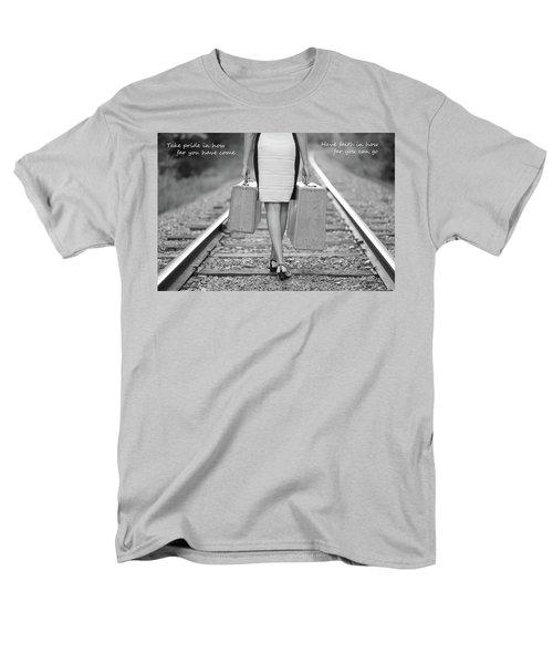 Faith In Your Journey Men's T-Shirt  (Regular Fit)