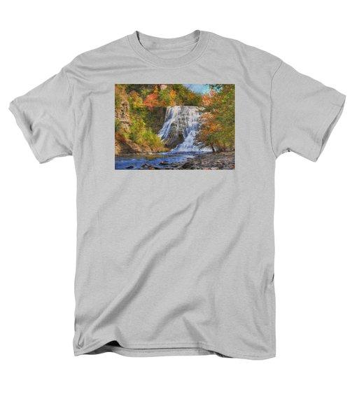 Falls In New York Men's T-Shirt  (Regular Fit) by Sharon Batdorf