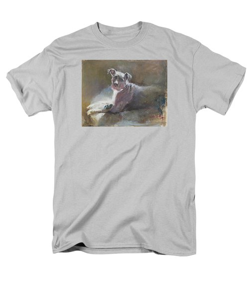 Men's T-Shirt  (Regular Fit) featuring the painting Faris 2 by Becky Kim