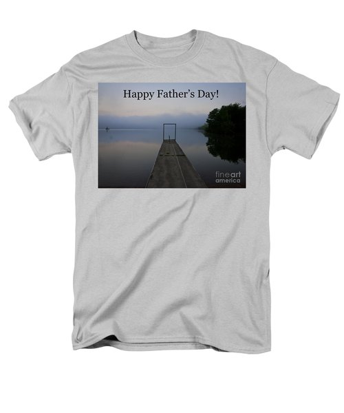 Father's Day Dock Men's T-Shirt  (Regular Fit) by Douglas Stucky