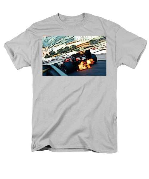 Ferrari 156/85 V6 Men's T-Shirt  (Regular Fit) by Thomas M Pikolin