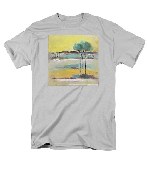 Men's T-Shirt  (Regular Fit) featuring the painting Standing In Distance by Becky Kim