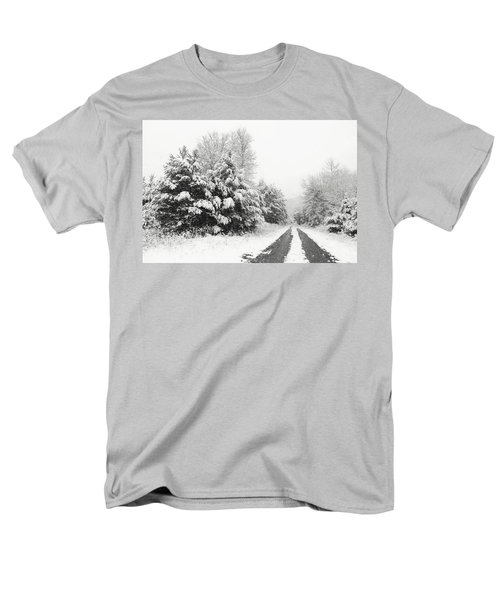 Men's T-Shirt  (Regular Fit) featuring the photograph Find A Pretty Road by Lori Deiter