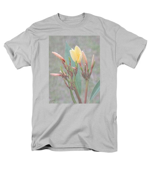 Men's T-Shirt  (Regular Fit) featuring the photograph First Bud by Rosalie Scanlon