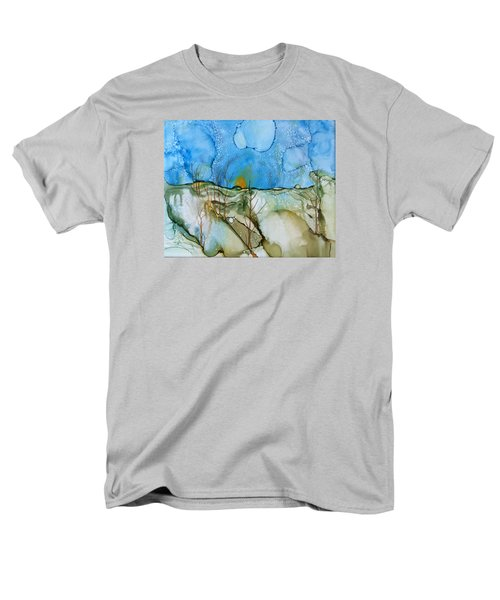 Men's T-Shirt  (Regular Fit) featuring the painting First Snowfall by Pat Purdy