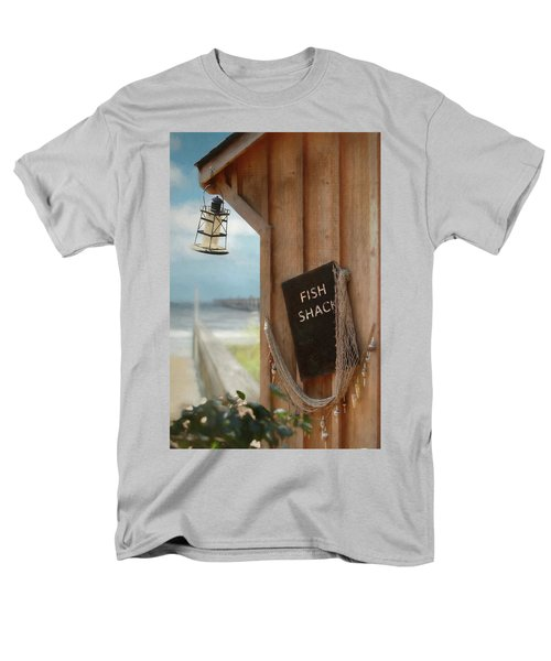 Men's T-Shirt  (Regular Fit) featuring the photograph Fish Fileted by Lori Deiter