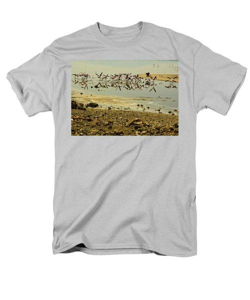Flamingos Men's T-Shirt  (Regular Fit) by Patrick Kain