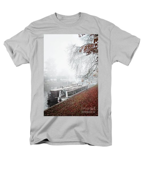 Floating Homes Of  River Cam Men's T-Shirt  (Regular Fit) by Eden Baed