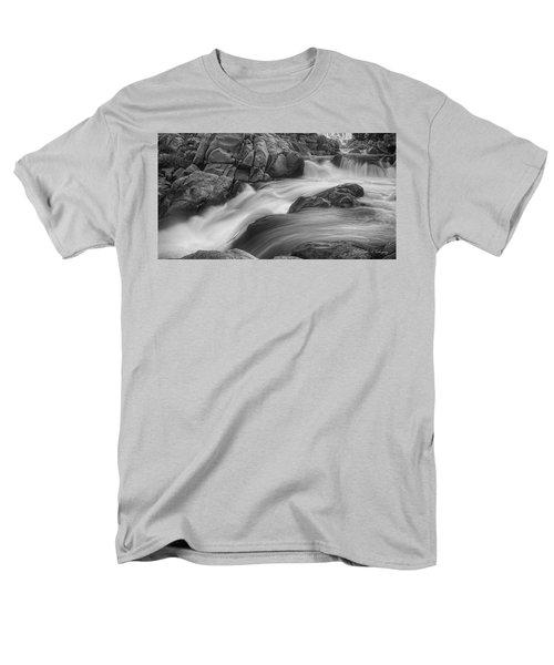 Flowing Waters At Kern River, California Men's T-Shirt  (Regular Fit)