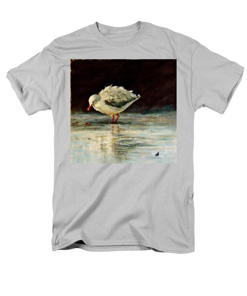 Men's T-Shirt  (Regular Fit) featuring the painting Fluffy Jonathan.. by Cristina Mihailescu
