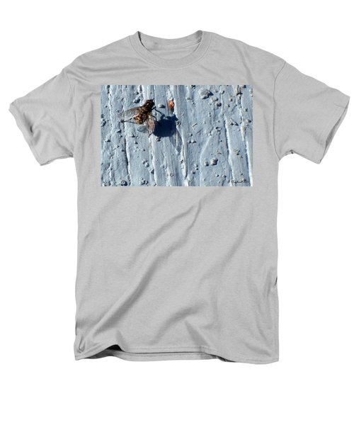 Men's T-Shirt  (Regular Fit) featuring the photograph Fly On The Wall by Betty Northcutt