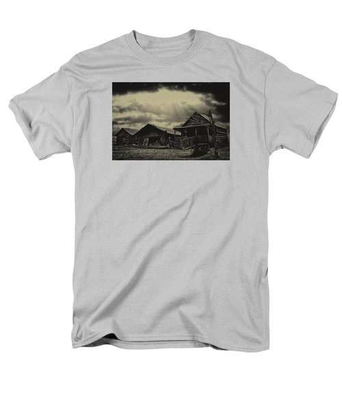 Men's T-Shirt  (Regular Fit) featuring the photograph Forgotten Years by B Wayne Mullins