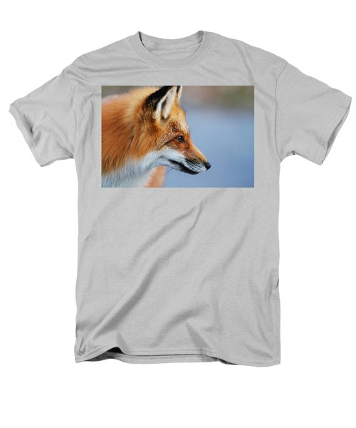 Fox Profile Men's T-Shirt  (Regular Fit) by Mircea Costina Photography