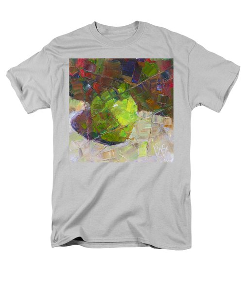 Fractured Granny Smith Men's T-Shirt  (Regular Fit) by Susan Woodward