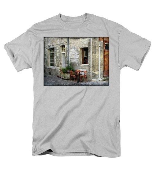 French Countryside Corner Men's T-Shirt  (Regular Fit) by Joan  Minchak