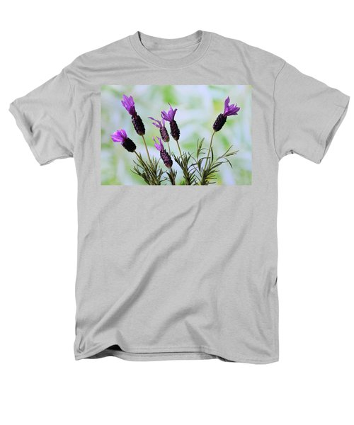 Men's T-Shirt  (Regular Fit) featuring the photograph French Lavender by Terence Davis