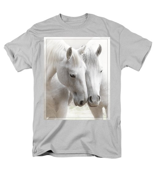Men's T-Shirt  (Regular Fit) featuring the photograph Friends D2573 by Wes and Dotty Weber