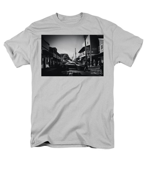 Men's T-Shirt  (Regular Fit) featuring the photograph Front Street  by Sharon Mau