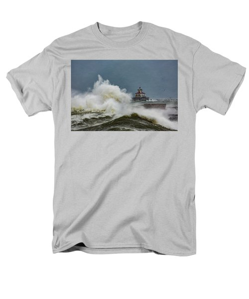 Men's T-Shirt  (Regular Fit) featuring the photograph Fury On The Lake by Everet Regal