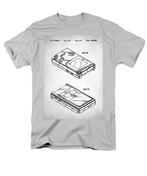 Men's T-Shirt  (Regular Fit) featuring the digital art Gameboy Patent by Taylan Apukovska