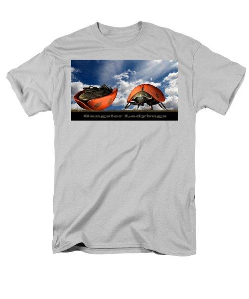 Gangster Ladybugs Nature Gone Mad Men's T-Shirt  (Regular Fit) by Bob Orsillo