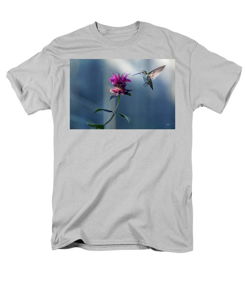 Men's T-Shirt  (Regular Fit) featuring the photograph Garden Jewelry by Everet Regal