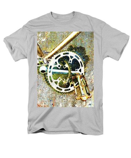 Men's T-Shirt  (Regular Fit) featuring the mixed media Gear by Tony Rubino