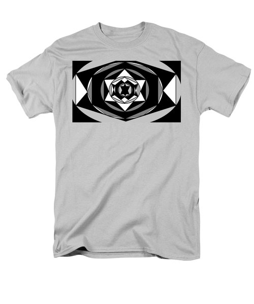 'geometric 1' Men's T-Shirt  (Regular Fit) by Linda Velasquez