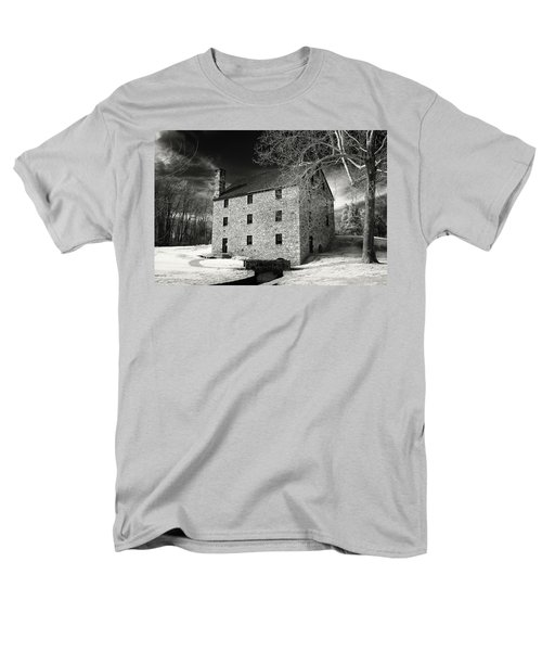 George Washingtons Gristmill Men's T-Shirt  (Regular Fit) by Paul Seymour
